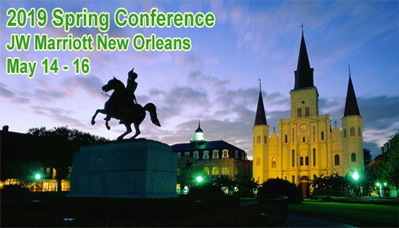 Join us in The Big Easy .... New Orleans, LA!